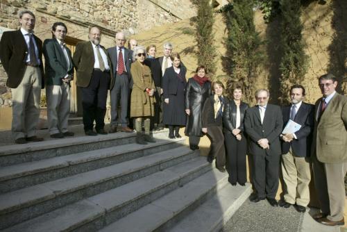 Con la Junta Directiva de la AIH, Soria 2006