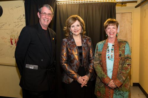 David Janna with Renee Fleming Paramount Theater