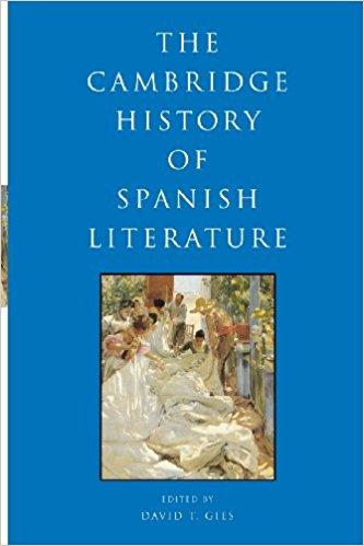 Cambridge History of Spanish Literature 2004