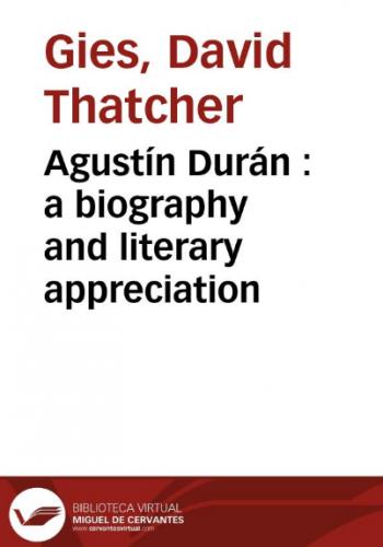 Augustin Duran